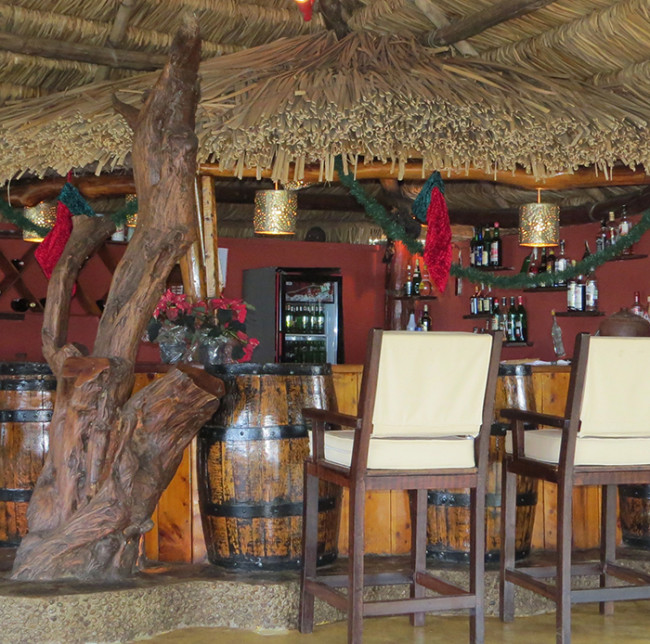 christmas main bar
